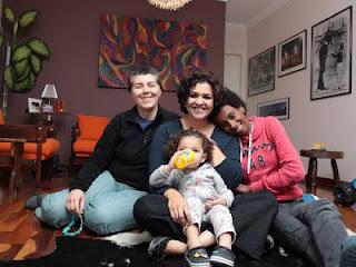 Vida com dois pais e duas mães - Jofrnal O Globo