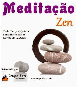 Meditação Zazen agora na AANKK