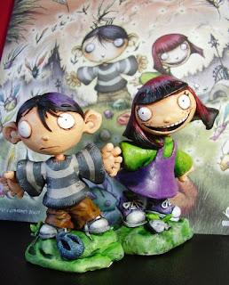 orme magiche bambino dei moschini statuette sculture action figure personalizzate fatta a mano artibal celesta modellini, da colorare, fumetti maquette