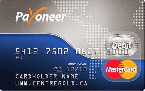 Card Payoneer Romania
