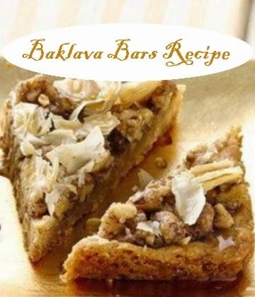 Baklava Bars Recipe