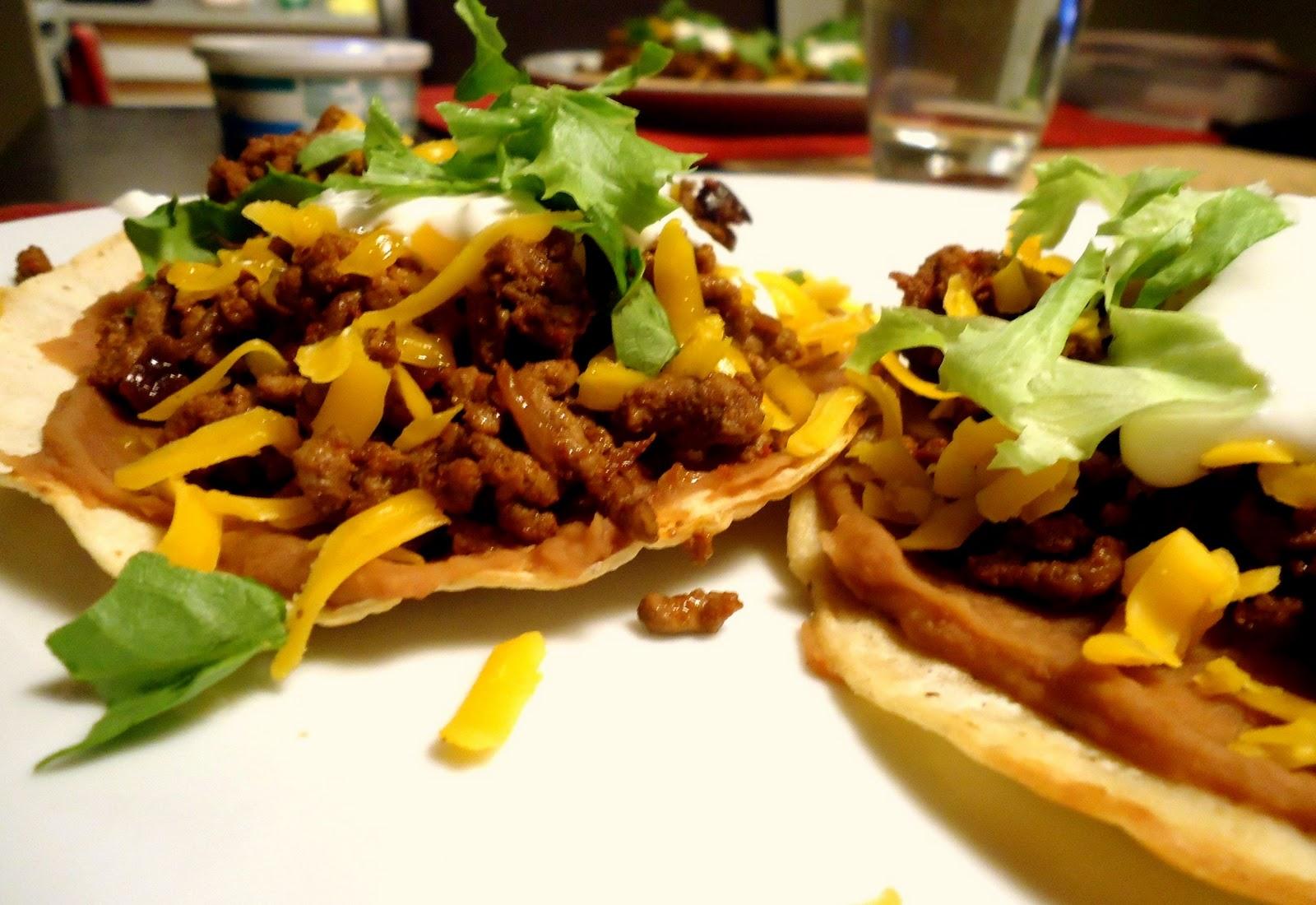 Mexican Tostada Recipe — Dishmaps