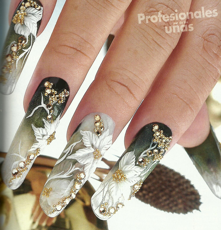 U as de acrilico nails princess u as acrilicas de revistas - Dibujos unas de porcelana ...