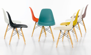 silla Eames Plastic Side Chair