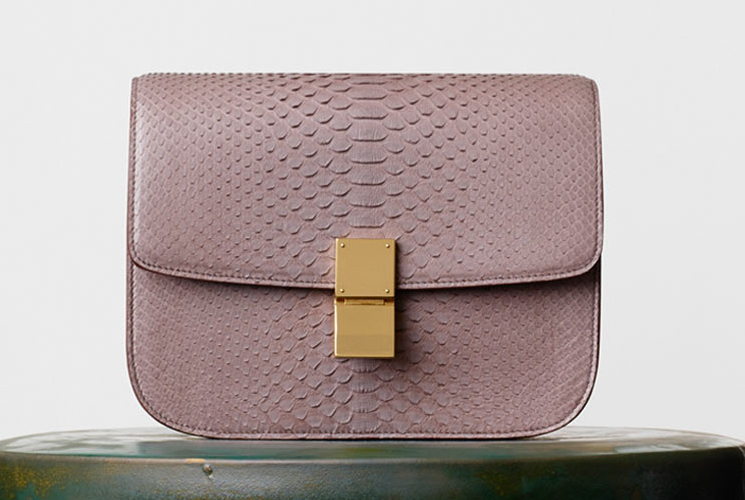 celine belt bag python crocodile
