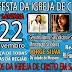 Festa de 72° anos da Igreja de Cristo em Santana.
