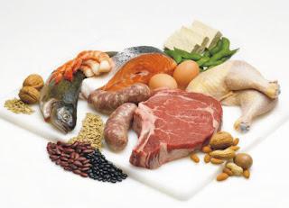 makanan mengandungi protein tinggi, makanan seimbang, makanan berkhasiat,