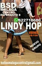 LINDY HOP  EN  MARZO,  LOS VIERNES A LAS 18:15H EN BSD BAILAS SOCIAL DANCE MÁLAGA CENTRO .