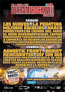 Festival Derrame Rock Bemposta Ourense 2013