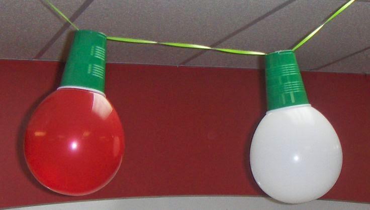 christmas lights - Christmas Balloon Decor