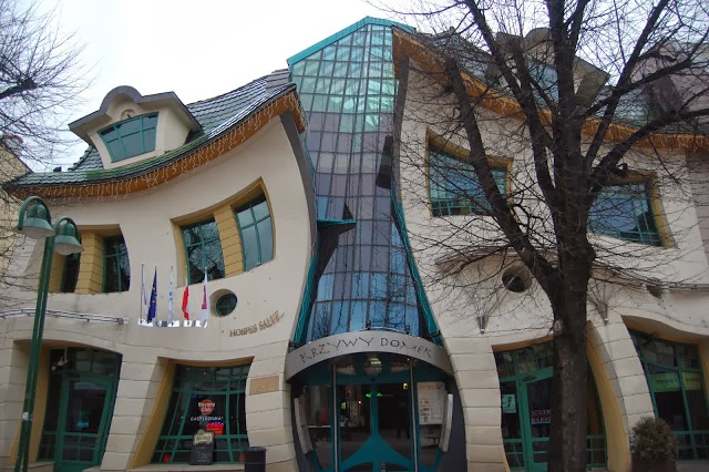 THE CROOKED HOUSE, SOPOT, POLAND