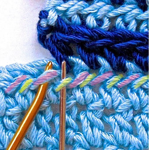 Crocheting Loops : Crochet Pattern Companion: How to Crochet Into that Third Loop ...