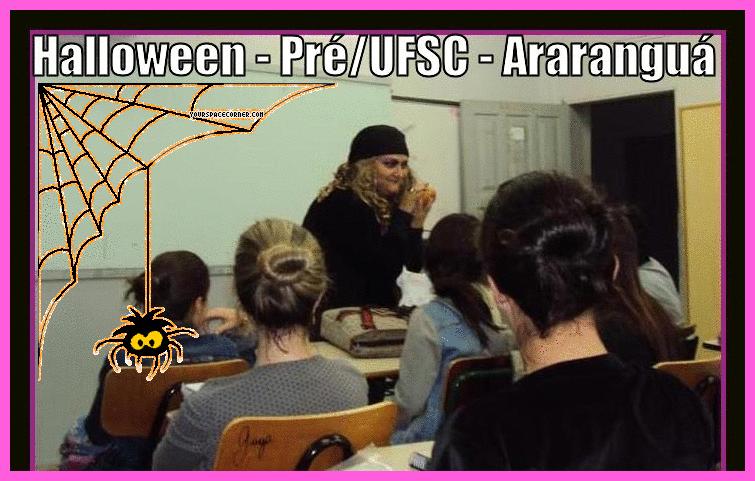 Outubro - As bruxas estão soltas kkkk