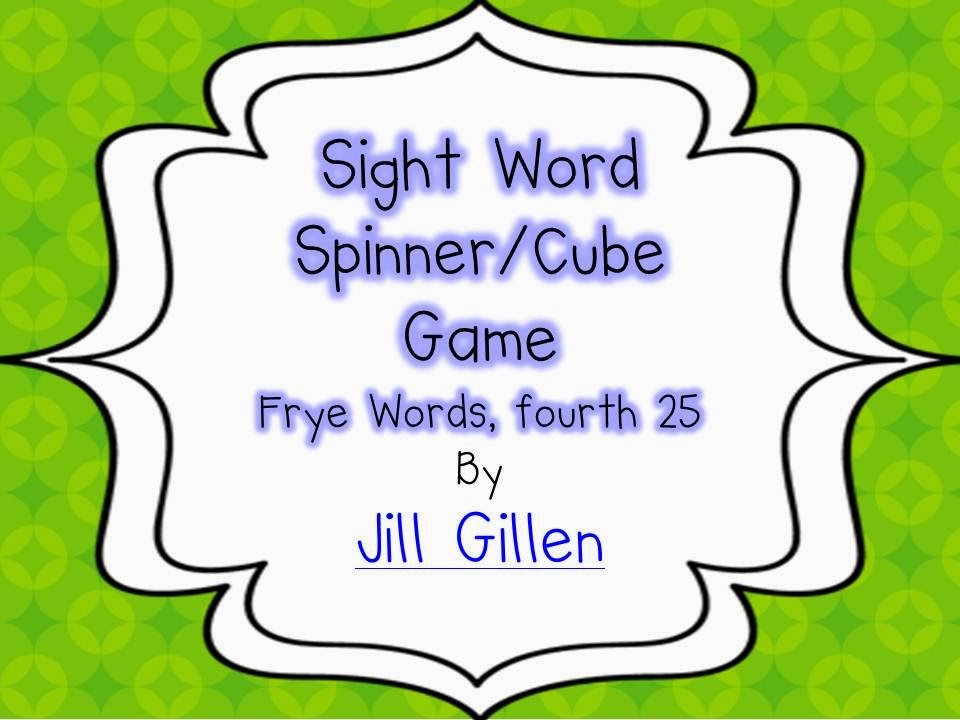 4th set of sight words