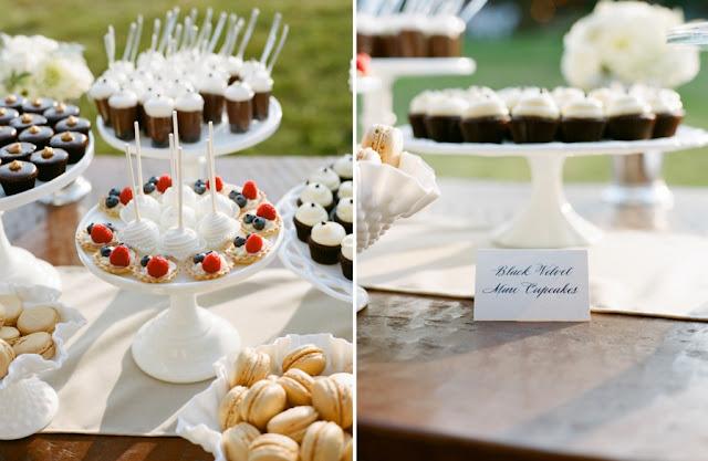 Minneapolis Vintage Wedding Mini Desserts