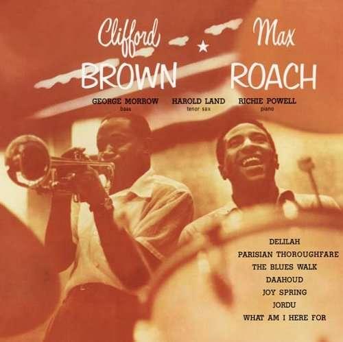 A rodar XXI - Página 17 Max+Roach+%2526+Clifford+Brown+-+Daahoud+-+1954