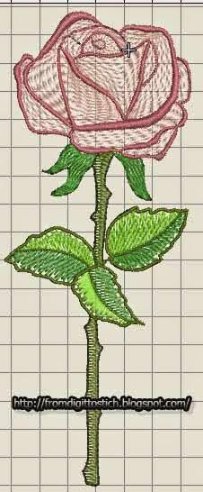 дизайн розы