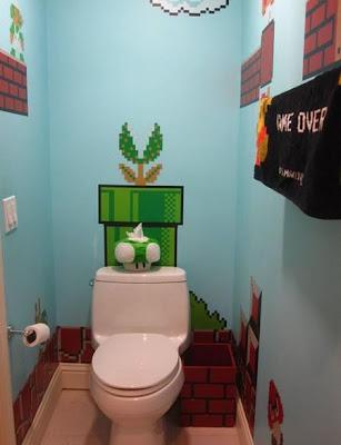 Banheiro nerd do Mario