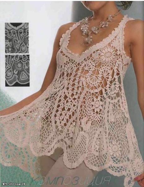 Crochet dress model-Knitting Gallery
