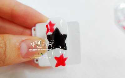 How to easily draw pump stars nail art