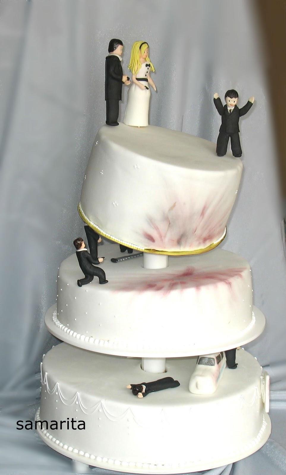 Гангстерский свадебный торт
