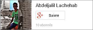 طريقة إنشاء بادج خاص بحسابك في جوجل بلس,Add Google+ Profile Badge Widget on Blogger
