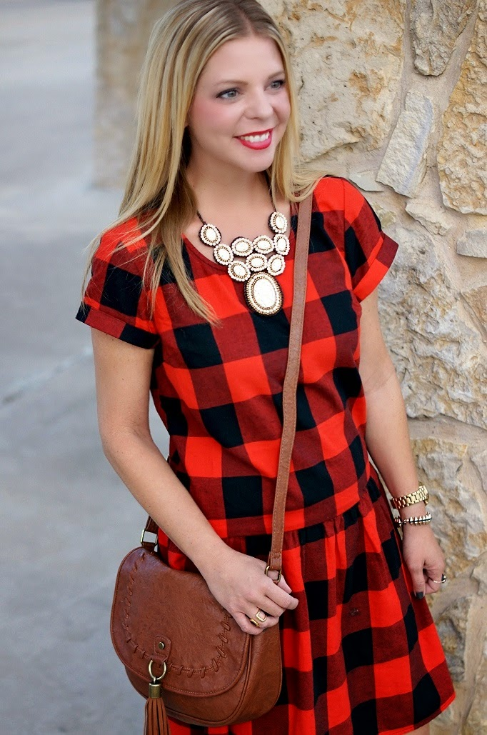 fall 2014 tredn red and black plaid check for fall