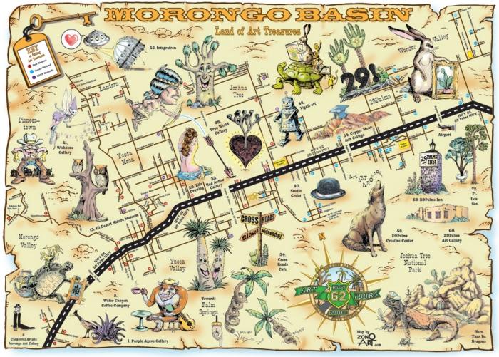 Wonder Valley Ca Maps