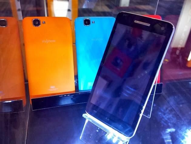 MyPhone Agua Rio: 5 inch HD, Quad-core, 8MP camera, 1GB RAM