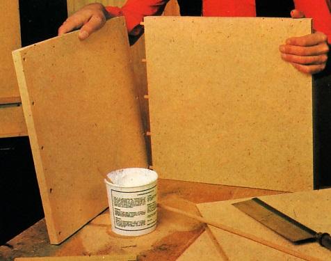 issu de recherches sur les substituts le premier panneau des particules de bois agglomres a t fabriqu en 1941 aujourdhui beaucoup de meubles sont - Peindre Un Meuble En Panneau De Particules