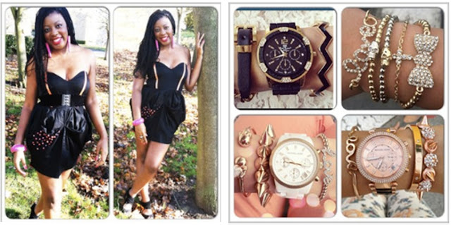 DIY little black dress accessories instagram