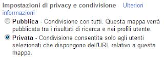 Google Maps - Privacy e condivisione