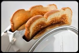 Eat toast for stop diarrhea