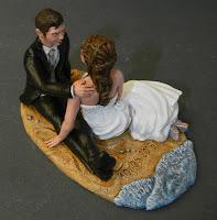 statuine originali matrimonio torta sposini somiglianti personalizzati orme magiche