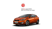 Kia pro_ceed red dot award 2013 Best of the Best