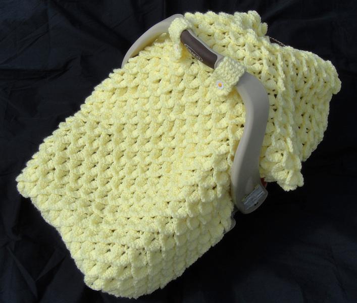 Crocodile Stitch Car Seat Canopy Pattern Heathers Craft Corner