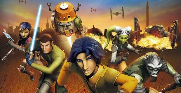 Star Wars Rebels 2015 Wallpaper 2015 Ezra And Friends Film Animation Cartoon Hd