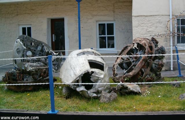 Motores de aviones irlandeses antiguos