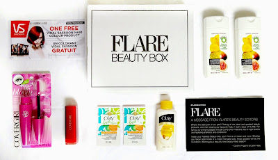 FLARE Fearless Beauty Box #flarebeautybox #pgmom
