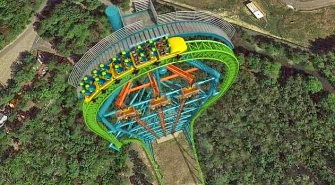 Roller Coaster Zumanjaro Paling Ekstrim di Dunia