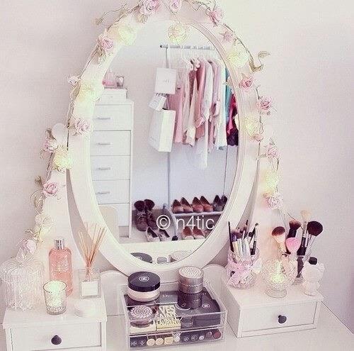 Mademoiselle mili rangement maquillage - Meuble de rangement pour maquillage ...
