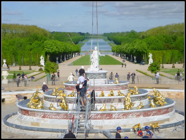 Latone Fountain Versailles restoration 2015