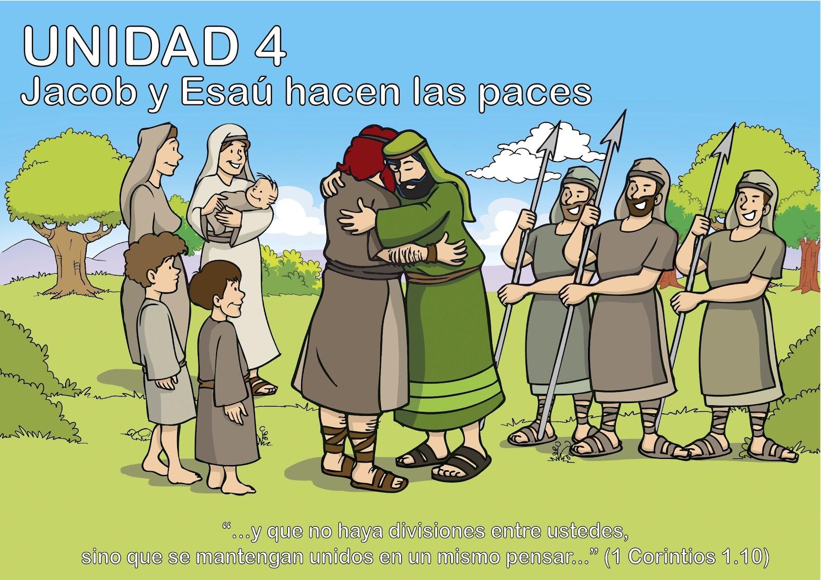 Historia: Jacob y Esaú hacen las paces ~ EBI Mexico