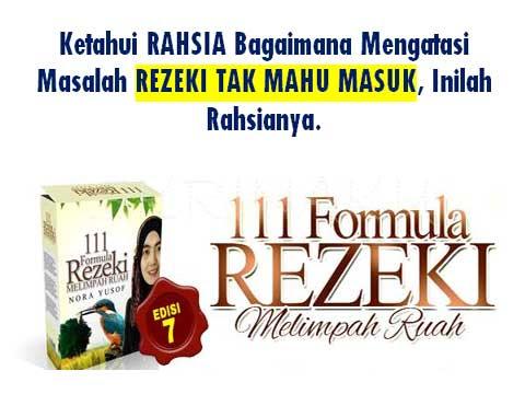 111 FORMULA MAGNET REZEKI & BEBAS HUTANG!