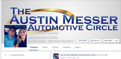 Click to Like Austin's Facebook Page!