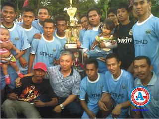 Tuwu Mori Fc, Juarai Turnamen FKPJ Cup di Lapangan 'NoliQu' Jatiwangi