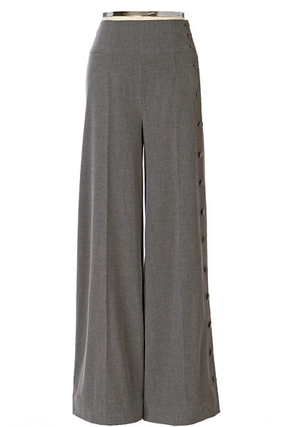 Anthropologie Buttoned-Up Trousers