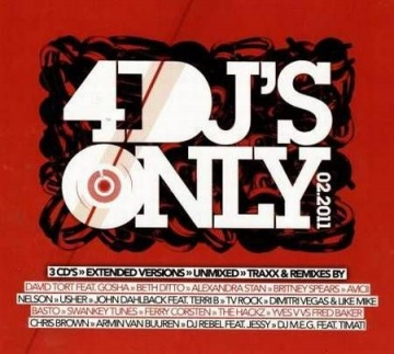 4djs Download   VA   4 DJs Only 02.2011 (3CD) (2011)