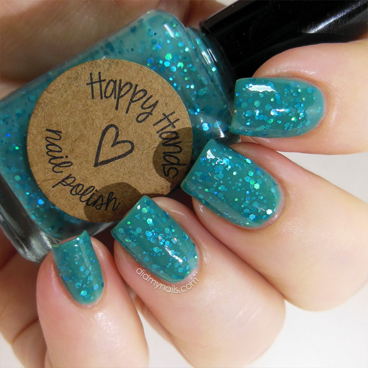 Happy Hands For British Eyes Only swatch
