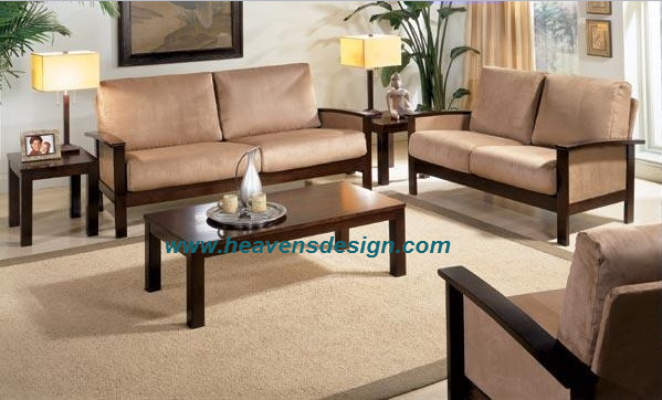 Modern Wooden Sofa Designs